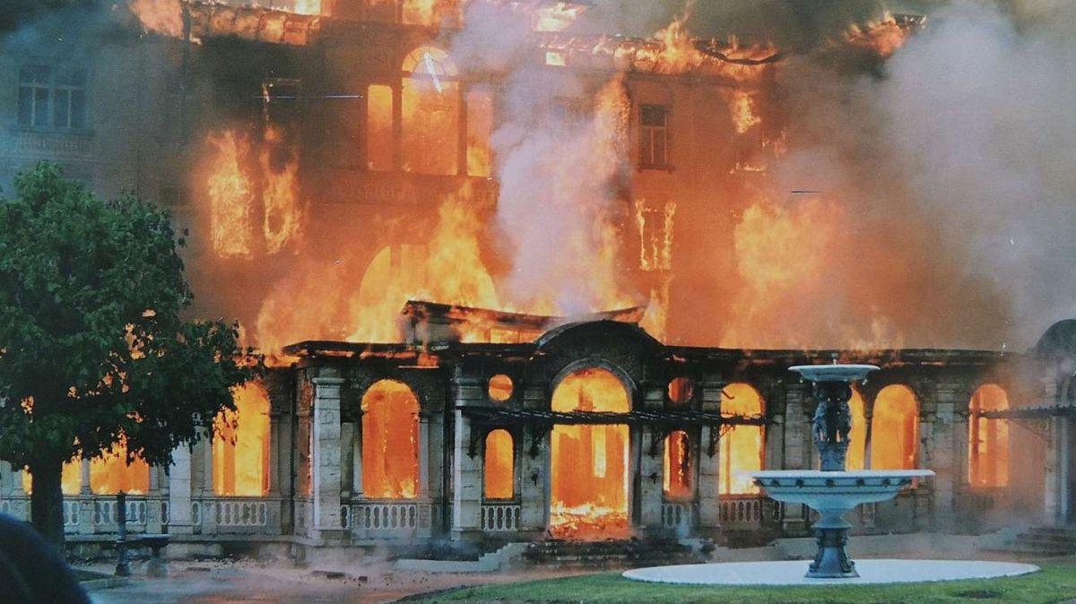 Das Waldhaus in Vulpera galt in Europa als erste Adresse des Badetourismus.  (Archivfoto EP)