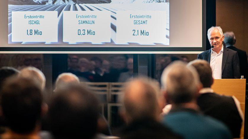 Hannes Parth ist Präsident des Verwaltungsrates der Bergbahnen Samnaun AG und setzt sich für ein Miteinander von Mensch, Tourismus und Natur in den Alpen ein (Foto: Bergbahnen GR/Daniel Ammann).