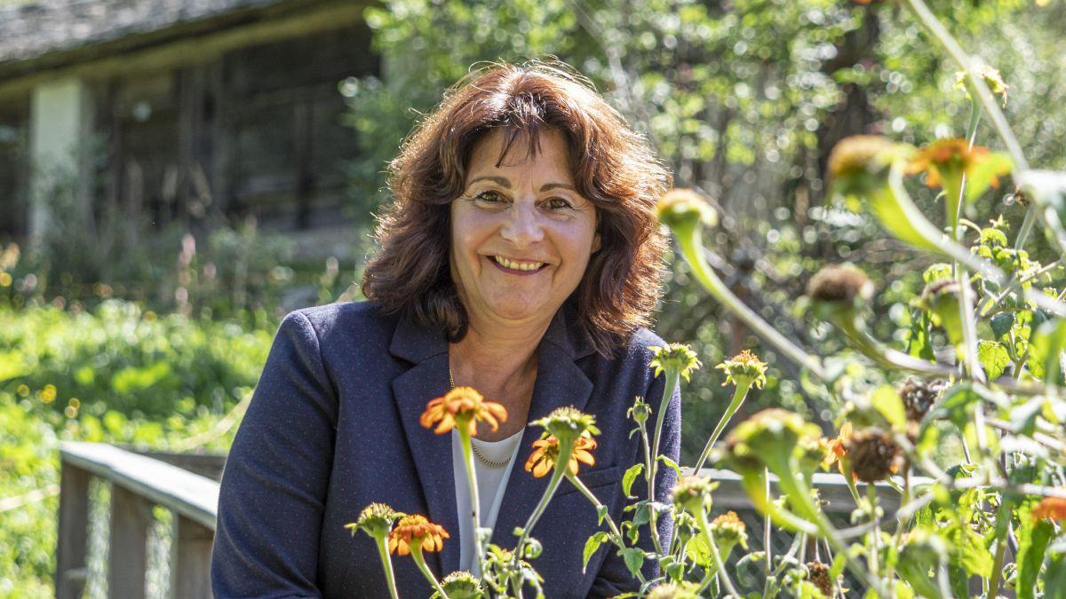 Anna Giacometti ist eine der wenigen Gemeindepräsidentinnen der Schweiz und Nationalrätin. Auch sie findet, dass es mehr Frauen in der Politik braucht.