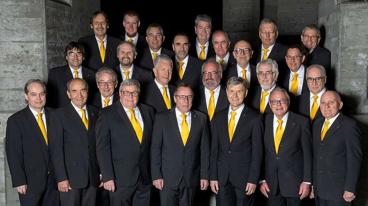 Il «Chor dils Larischs» festagia il giubileum cun differents concerts in settember (fotografia: Susi Haas).