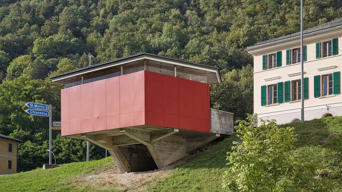 Zollpavillon Castasegna. Foto: Ralph Feiner