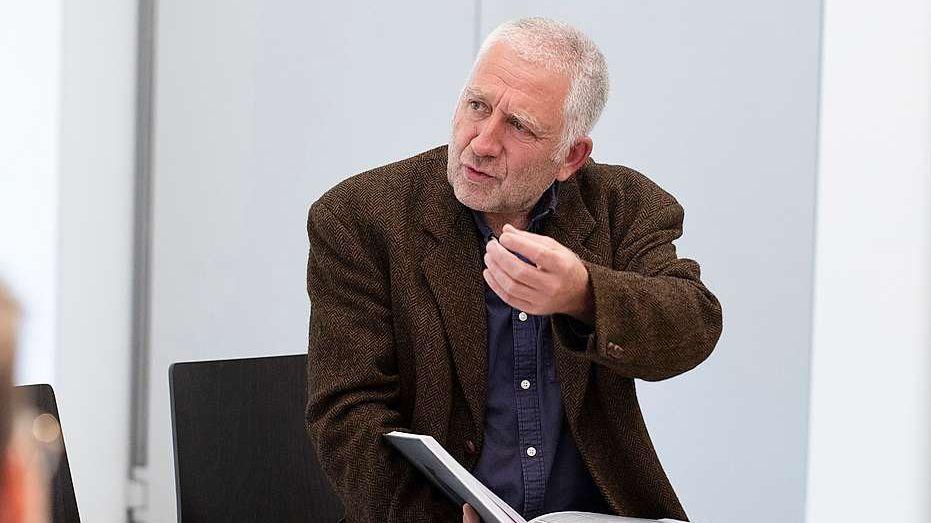 Il curator Christof Rösch (fotografia: mad)