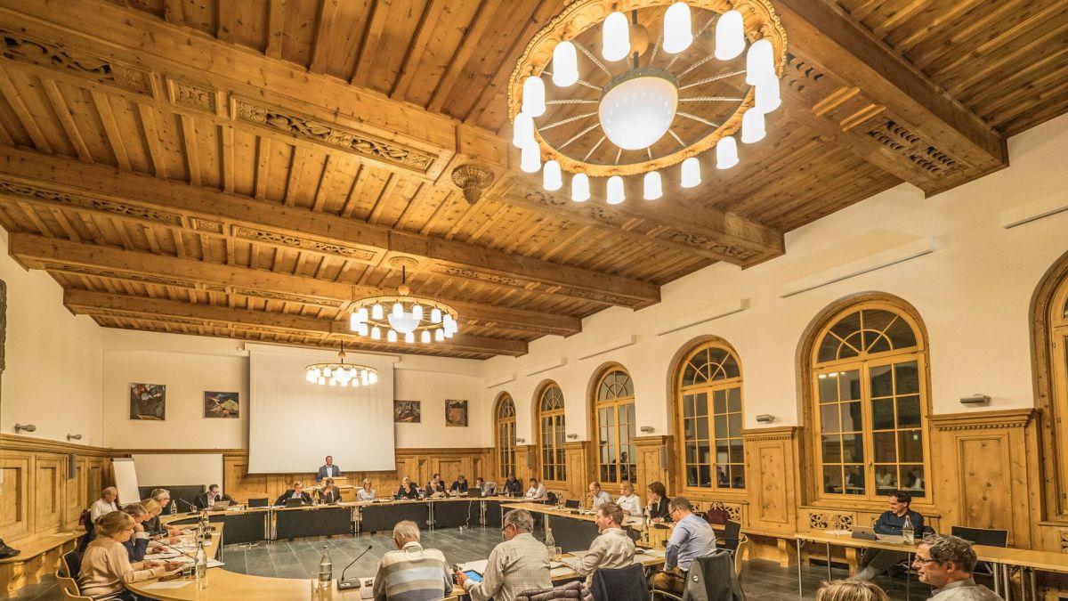Das St. Moritzer Gemeindeparlament. Foto: Reto Stifel