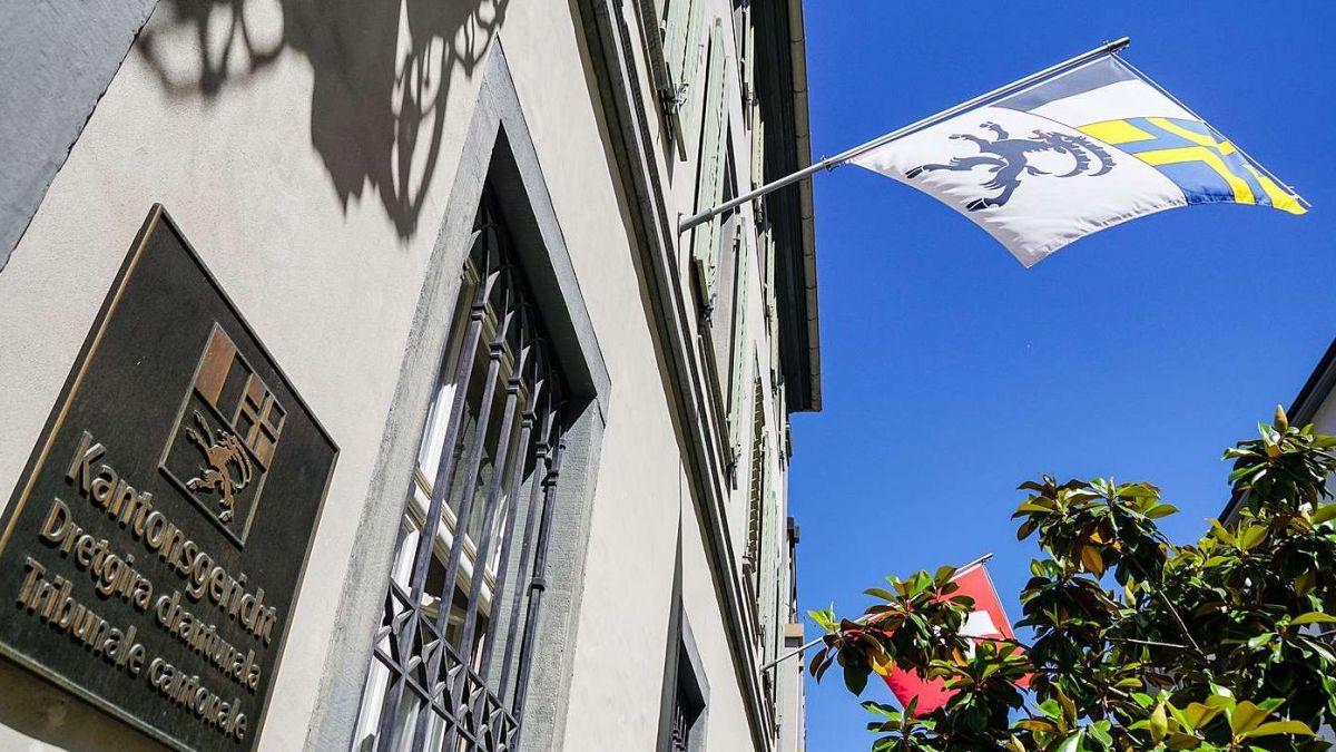 Kantonsgericht Graubünden in Chur. Foto: Jon Duschletta