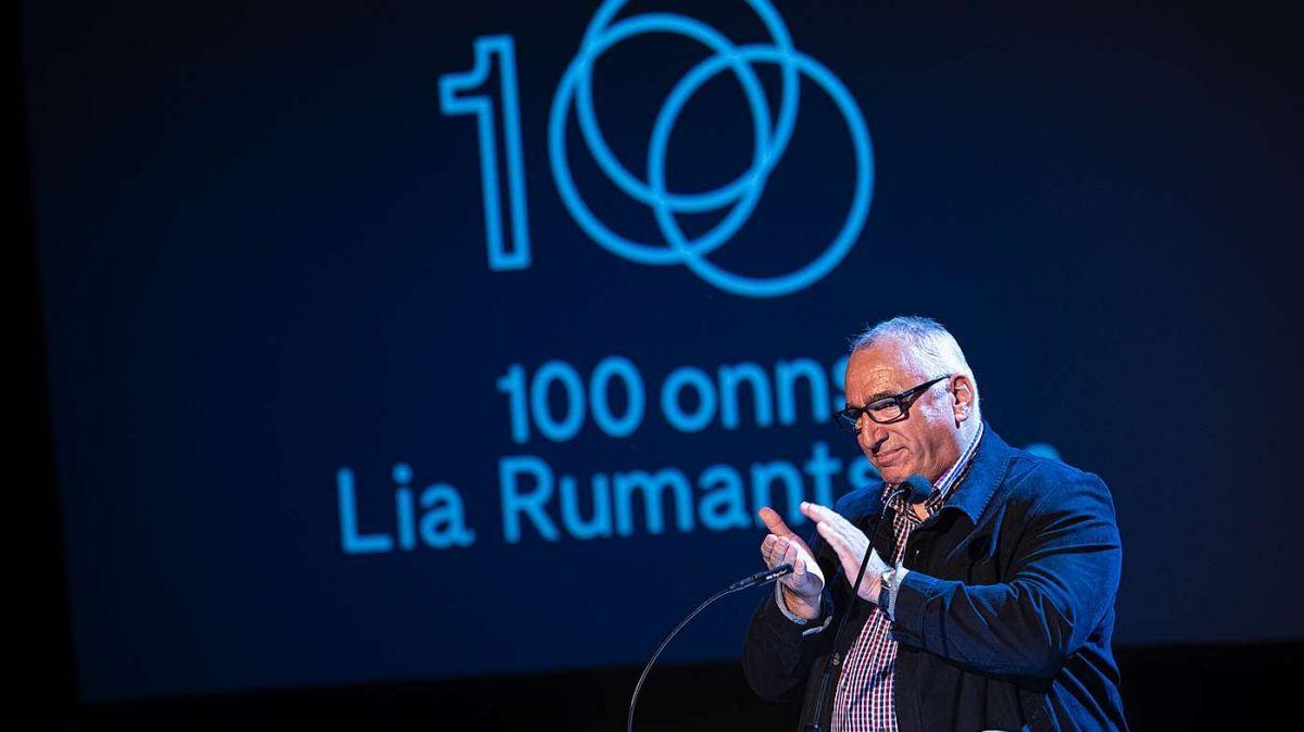 Martin Gabriel as retira sco secretari general da la Lia Rumantscha (fotografia: Mayk Wendt).