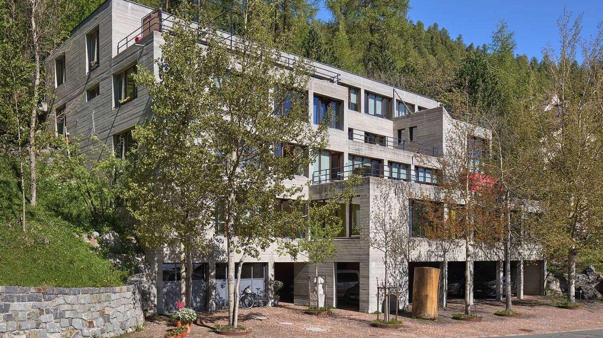 Atelierhaus Obrist in St. Moritz. Foto: Ralph Feiner