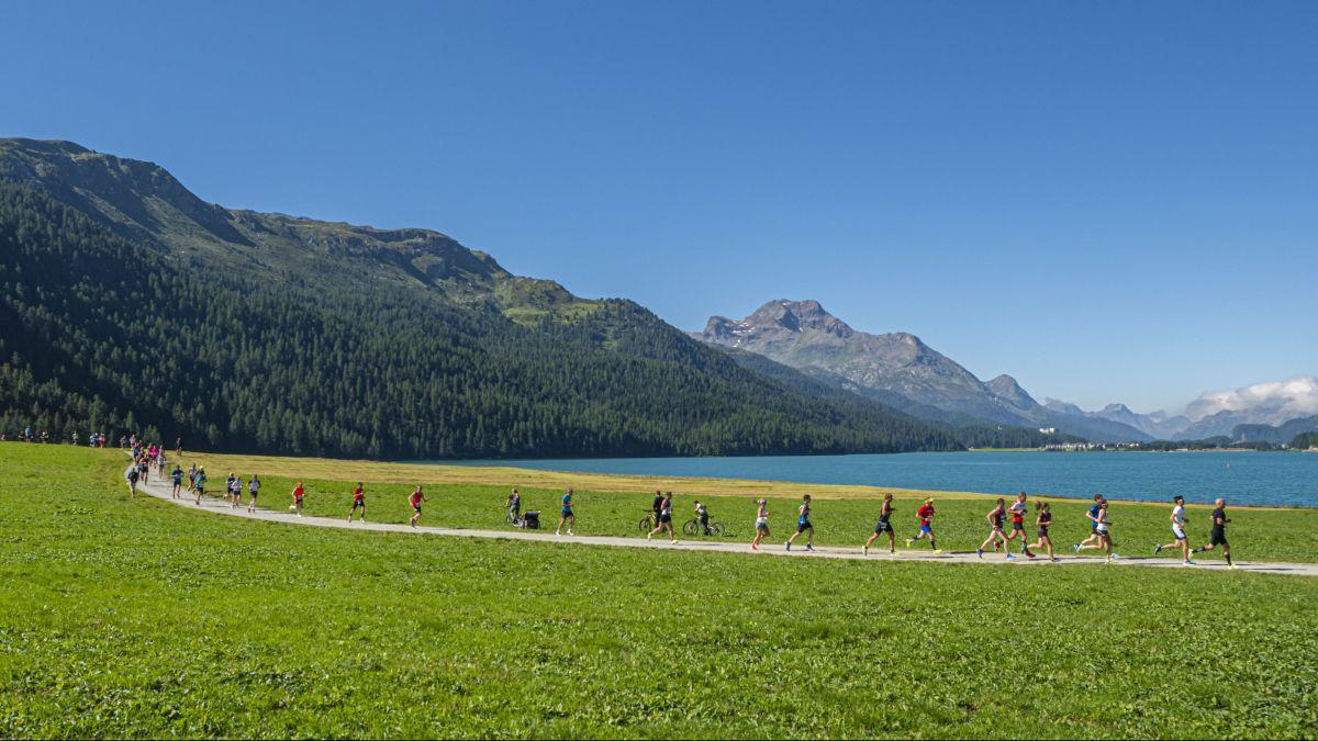 Der Sommerlauf findet nicht statt. Dafür der Vertical Lauf. Foto: Daniel Zaugg