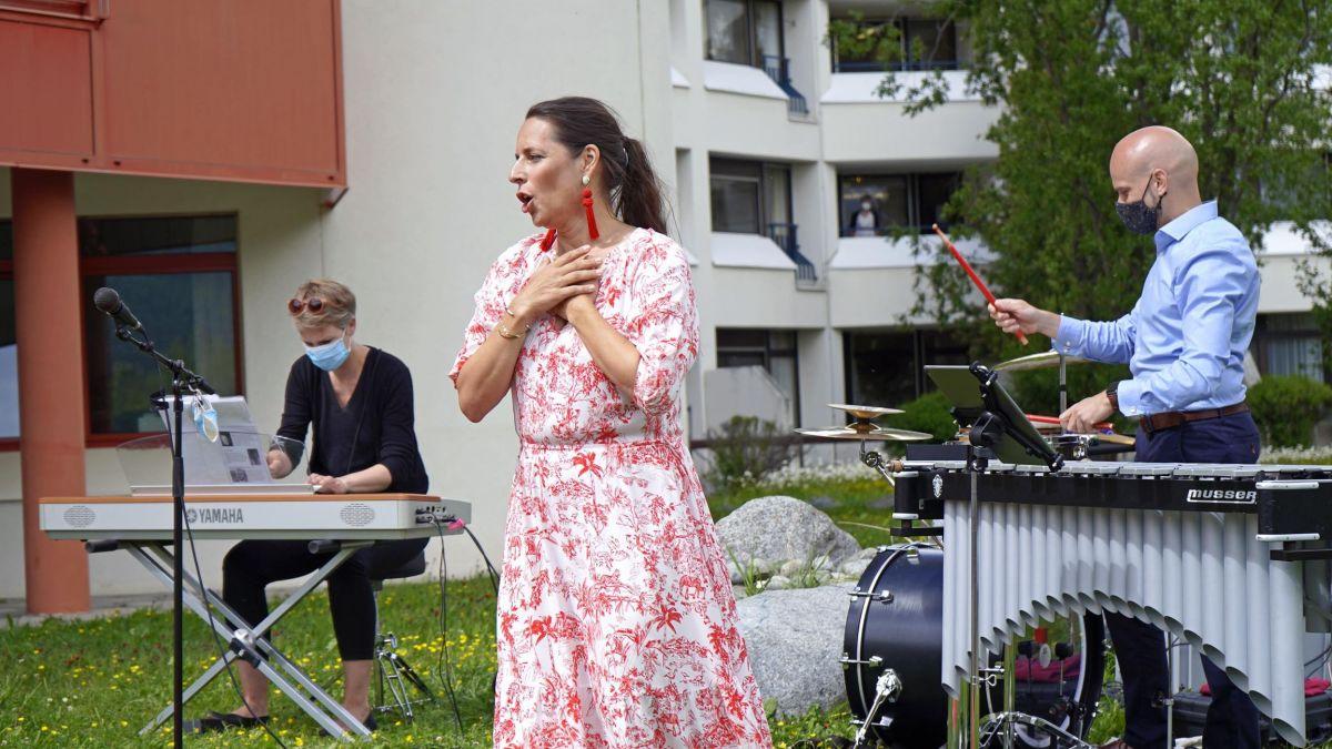 """""""La Serenata"""" war knapp vier Monate auf Pflegeheim-Tour. Foto: Denise Kley"""