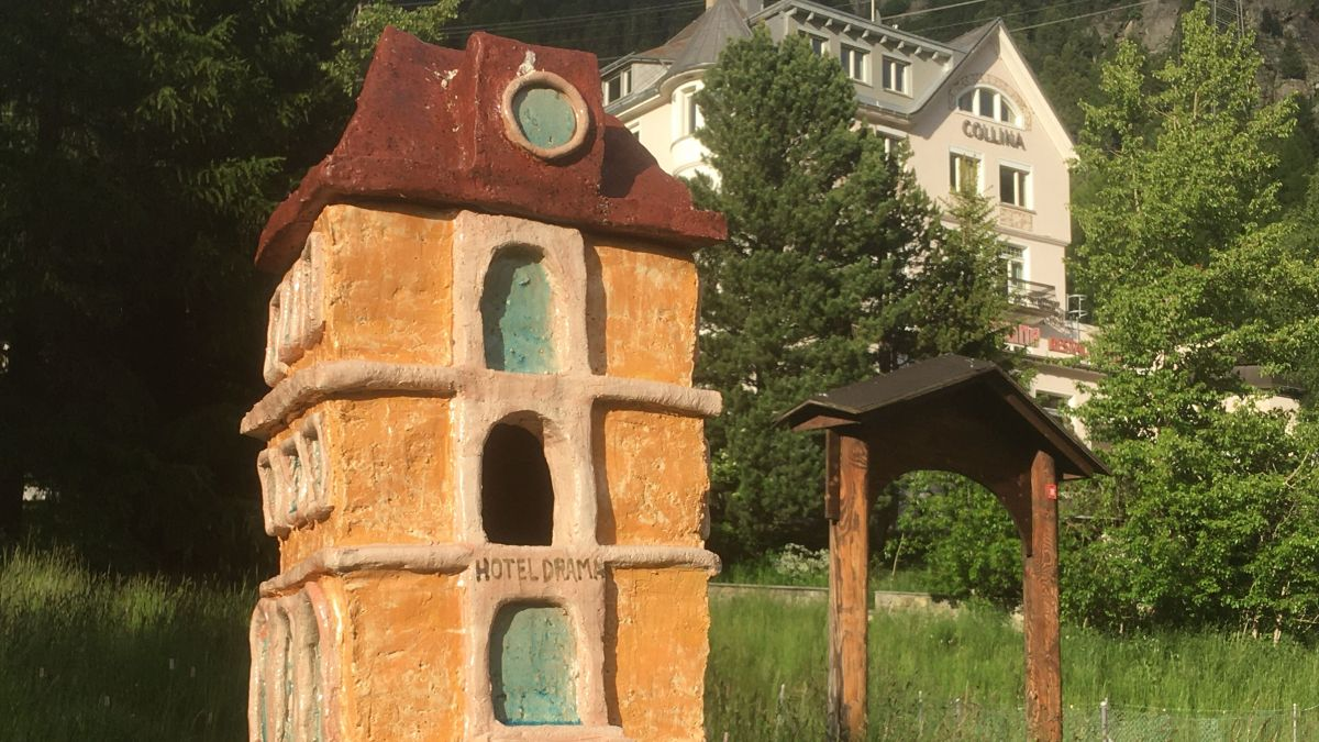 Guillaume Pilet aus Lausanne setzt sich mit dem Tourismus und der Natur auseinander.