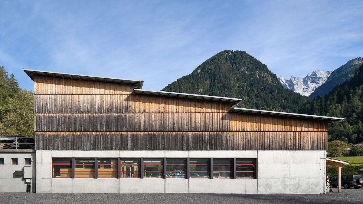 Schreinerei Giuseppe Sciuchetti + Co. in Spino/Promontogno. Foto: Ralph Feiner