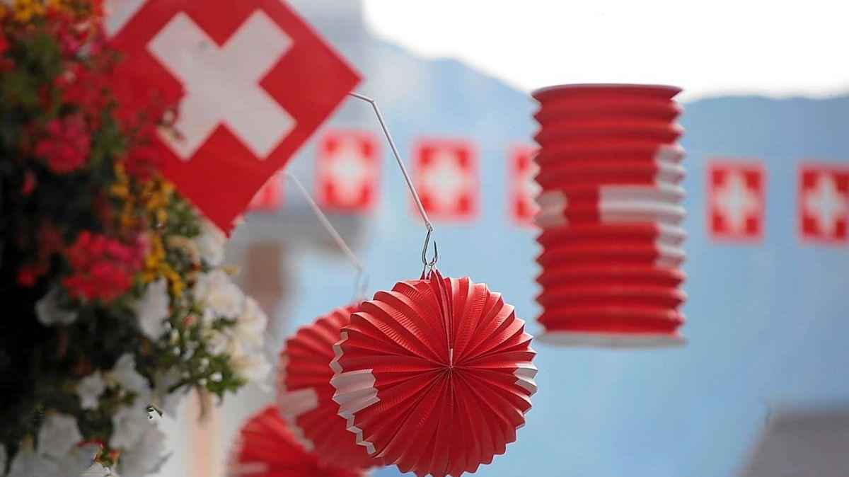 La festa uffiziala dals prüms avuost es gnüda annullada i'ls cumüns da l'Engiadina Bassa e Val Müstair (fotografia: swiss-image.ch).