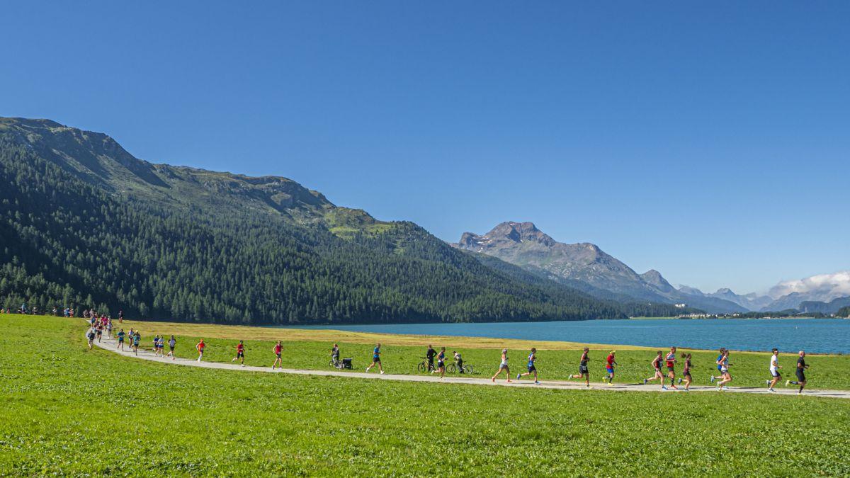 Für den 41. Engadiner Sommerlauf sind nur noch wenige Startplätze frei. Archivbild: Daniel Zaugg