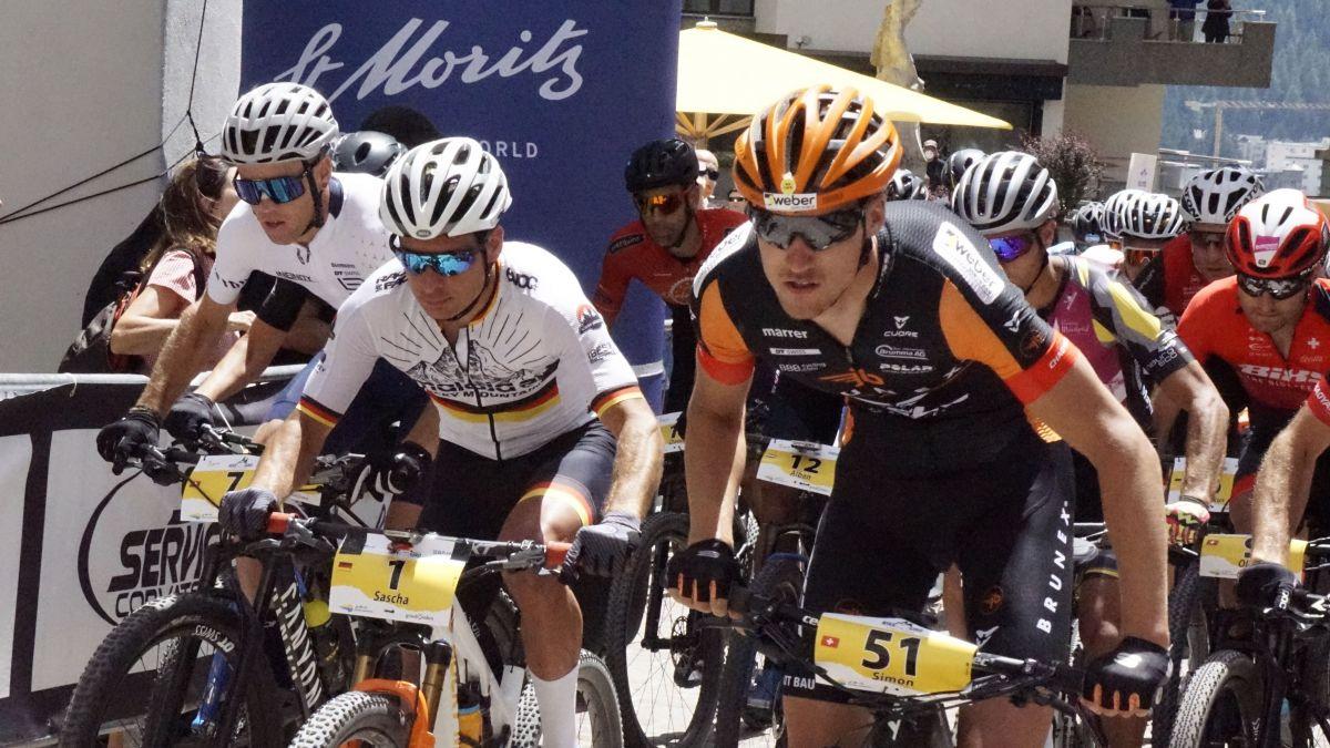 Start der ersten Etappe war in St. Moritz Dorf. Foto: Denise Kley