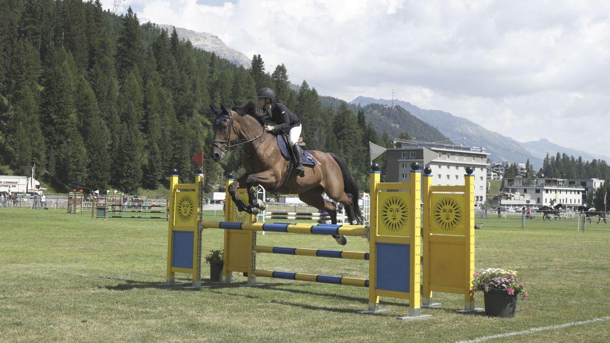 St.Moritz war am Wochenende Treffpunkt von Reitsportlern und Pferdefreunden.