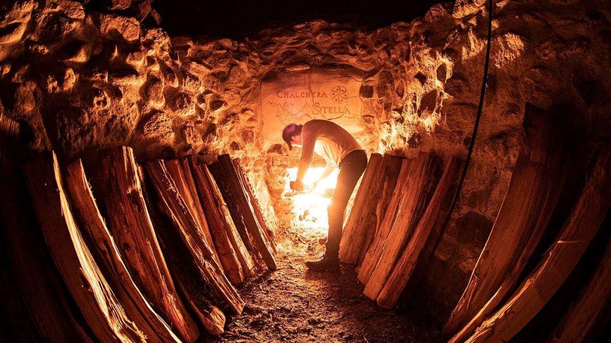 Daspö ils 1. avuost arda la chalchera a Sur En (fotografia: Mayk Wendt).