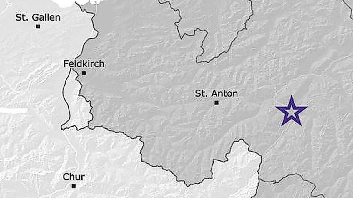 Screenshot: map.seismo.ethz.ch