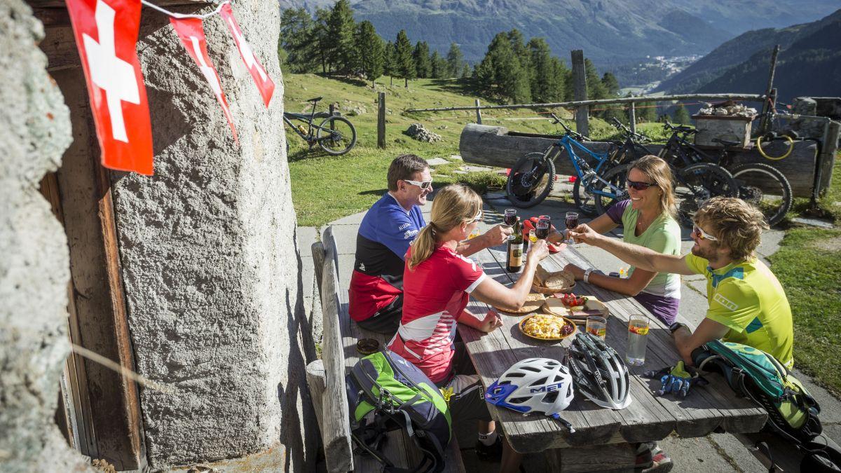 Nicht nur die Gäste erleben einen tollen Sommer, auch die Beherberger sind mehr als erfreut.Foto: Filip Zuan