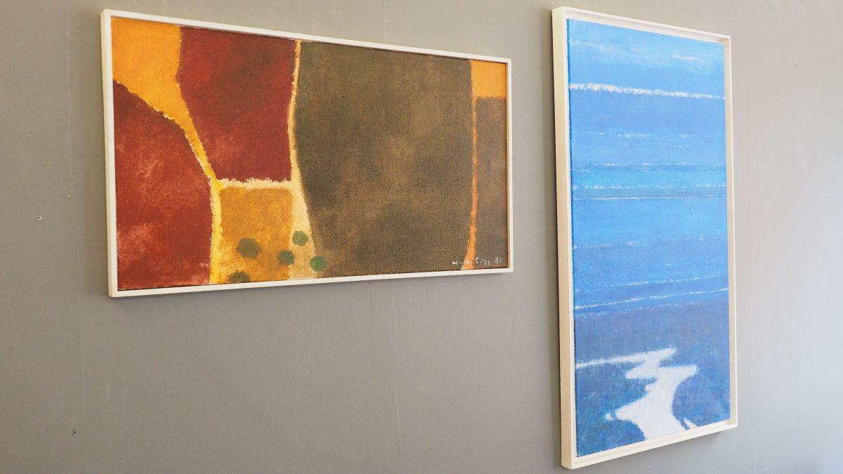 Gemälde von Hermann A. Sigg in der Galerie Curtins