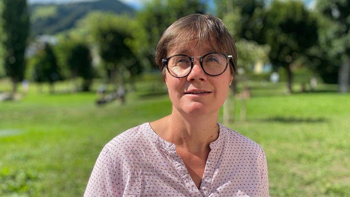 La deputada Aita Zanetti da Sent es gnüda nominada dal PBD per l'elecziun sco vicepresidenta dal Grond cussagl (fotografia: Nicolo Bass).