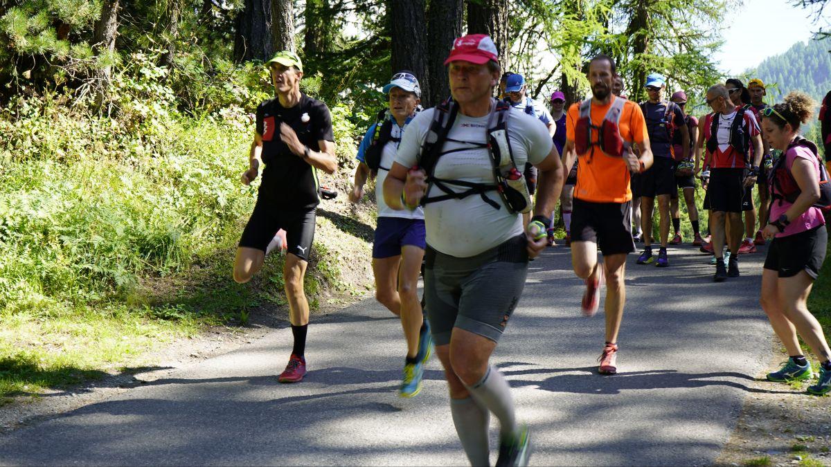 21 Teilnehmer zählte der Ausbildungskurs zum Erwachsenensportleiter im Bereich Trailrunning, der in Sils an diesem Wochenende Premiere hatte.