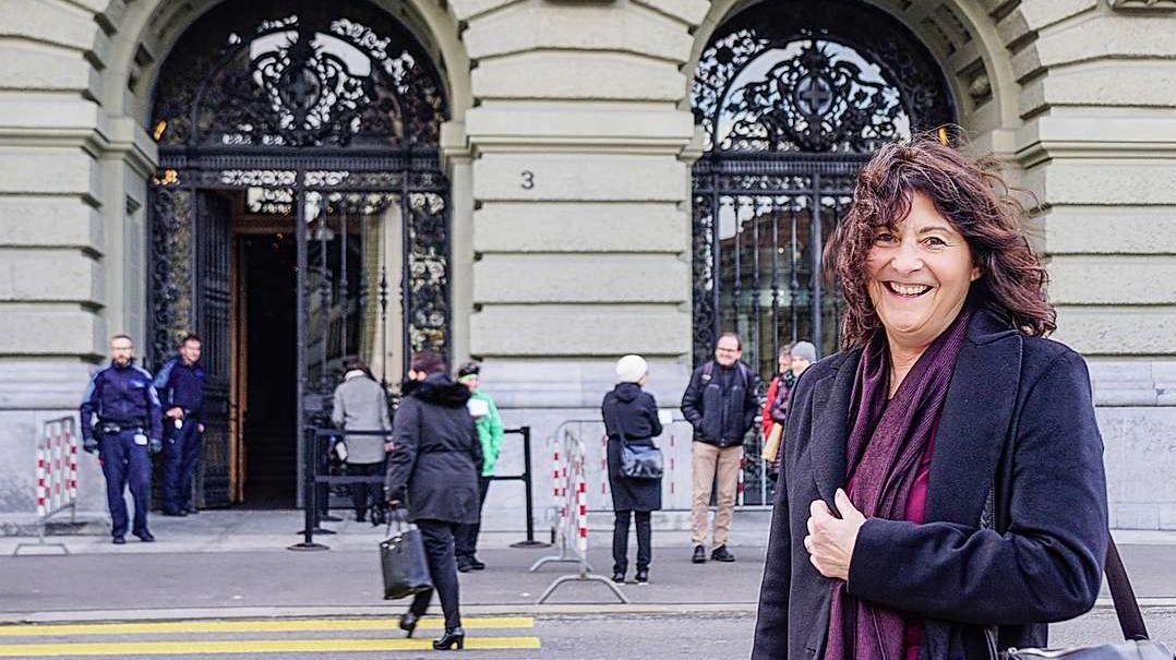 Nationalrätin Anna Giacometti in Bern. Archivfoto: Jon Duschletta