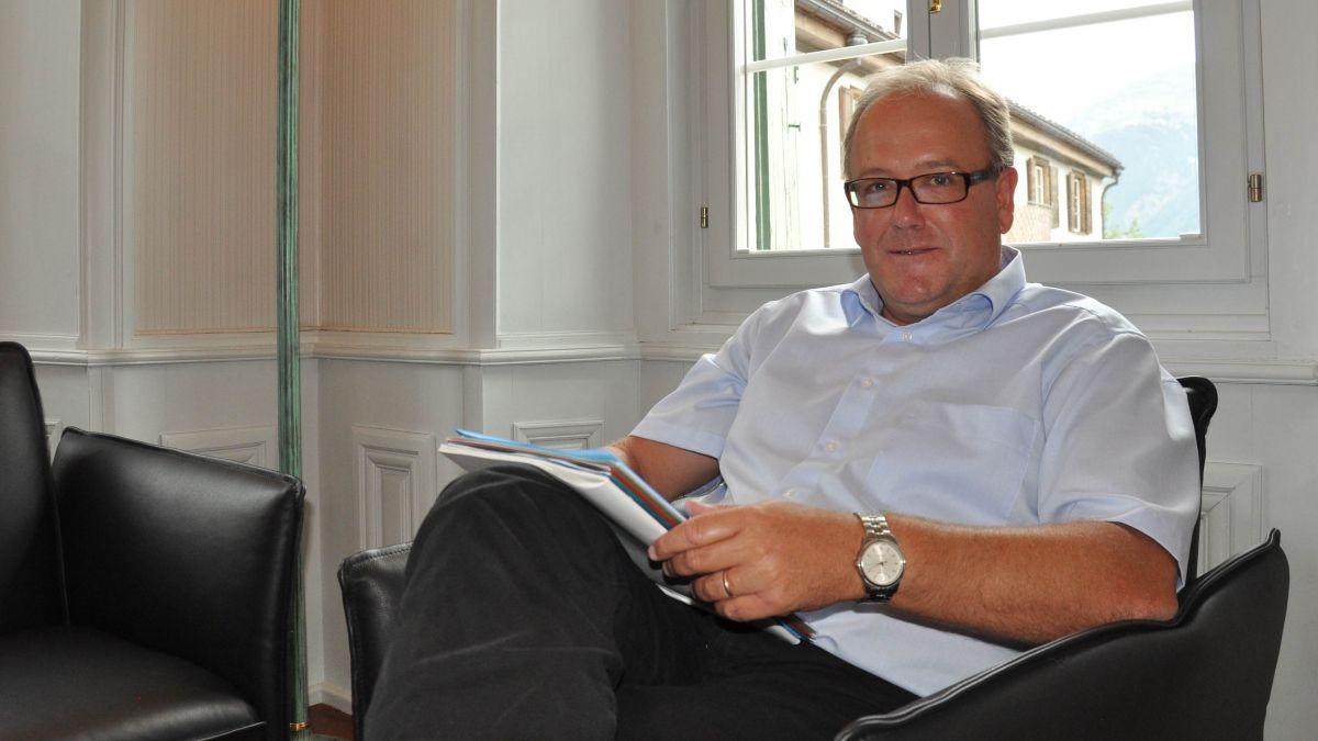 Jon Fadri Huder ist als Präsident von Ebnat Kappel gewählt worden (Foto: Archiv EP/PL).