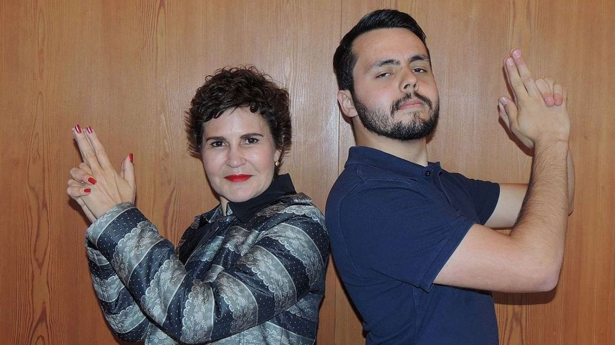 Romana Ganzoni e Ferdinand Filli (fotografia: Benedict Stecher).