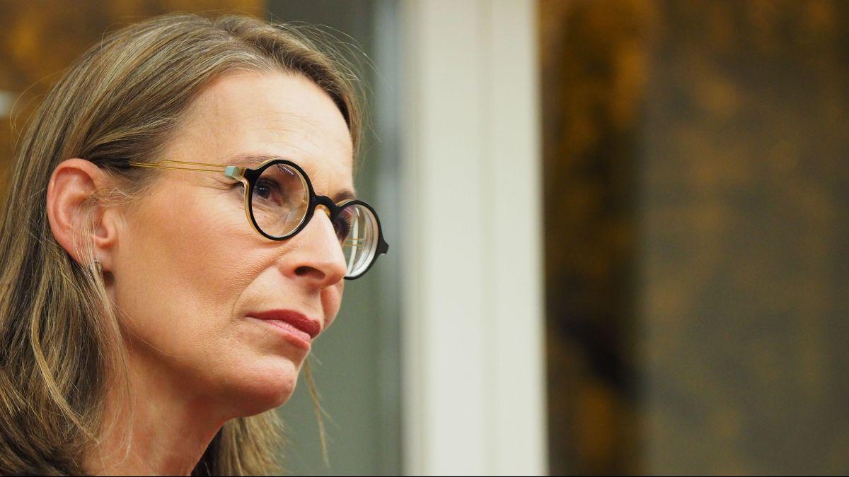 Sprach im Silser Hotel Waldhaus über den Umgang mit dem Wandel: Die politische Philosophin Katja Gentinetta.