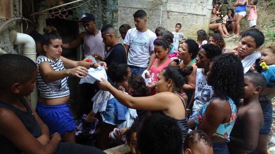 Manuela Schläpfer lebt mit ihrer Familie in einem der tausend Slums in Rio de Janeiro. Die junge Mutter ist täglich mit der vorherrschenden Armut in den Favelas konfrontiert. Foto: z. Vfg.