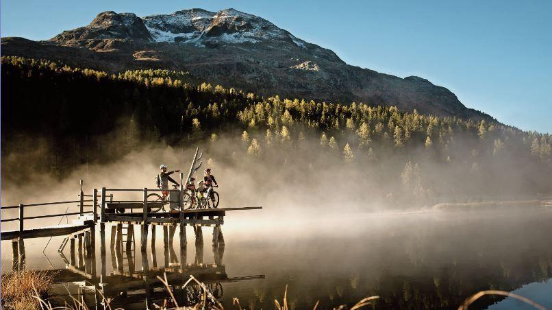 Die Beherberger im Engadin sind mit dem Buchungsstand sehr zufrieden. Allen voran die Vermieter von Ferienwohnungen. Foto: Simon Ricklin/Engadin St.Moritz Tourismus