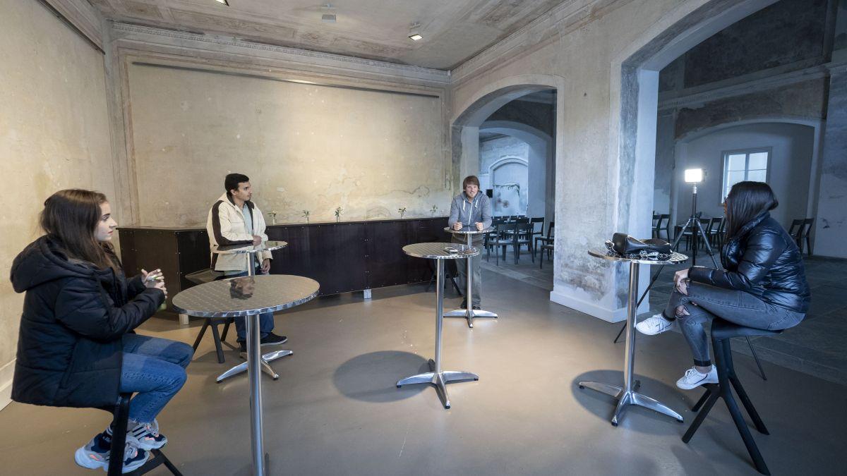 Round Table Gespräch im St. Moritzer Forum Paracelsus Foto: Daniel Zaugg
