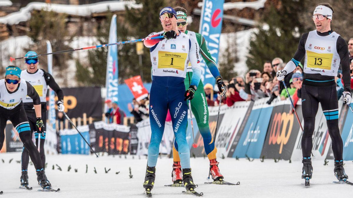 Ob der Engadiner Skimarathon dieses Jahr stattfinden kann, entscheidet sich in den nächsten Wochen. Foto: Daniel Zaugg