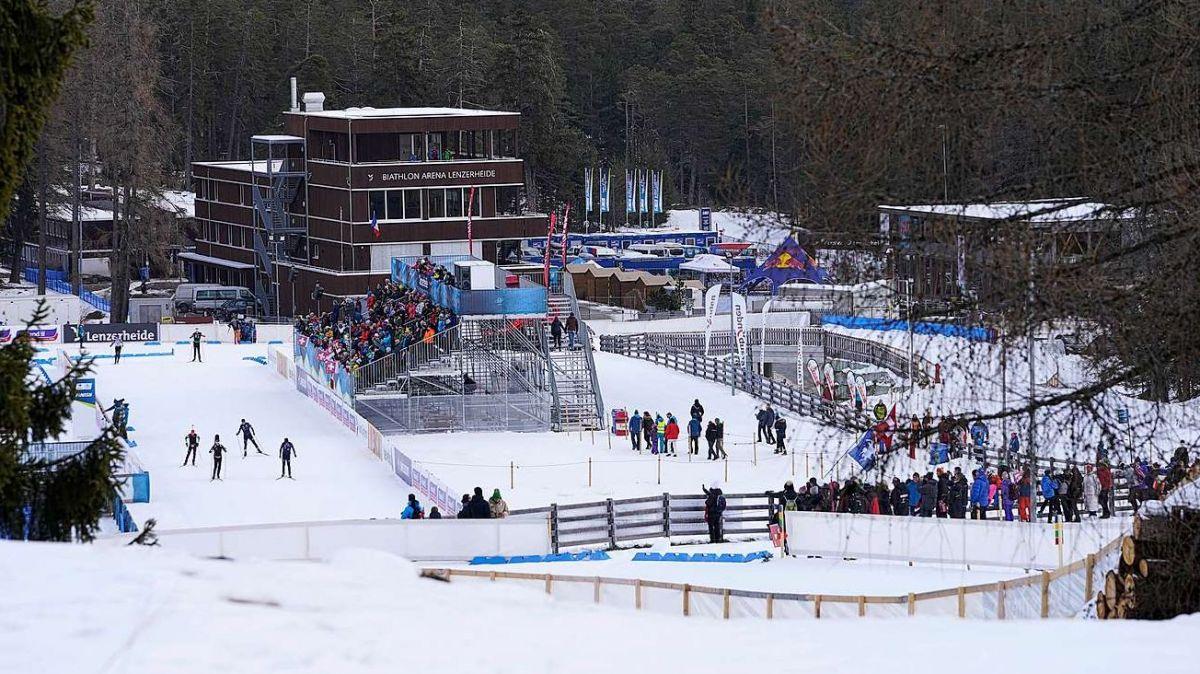 Biathlon-Arena Lenzerheide. Foto: Swiss Ski