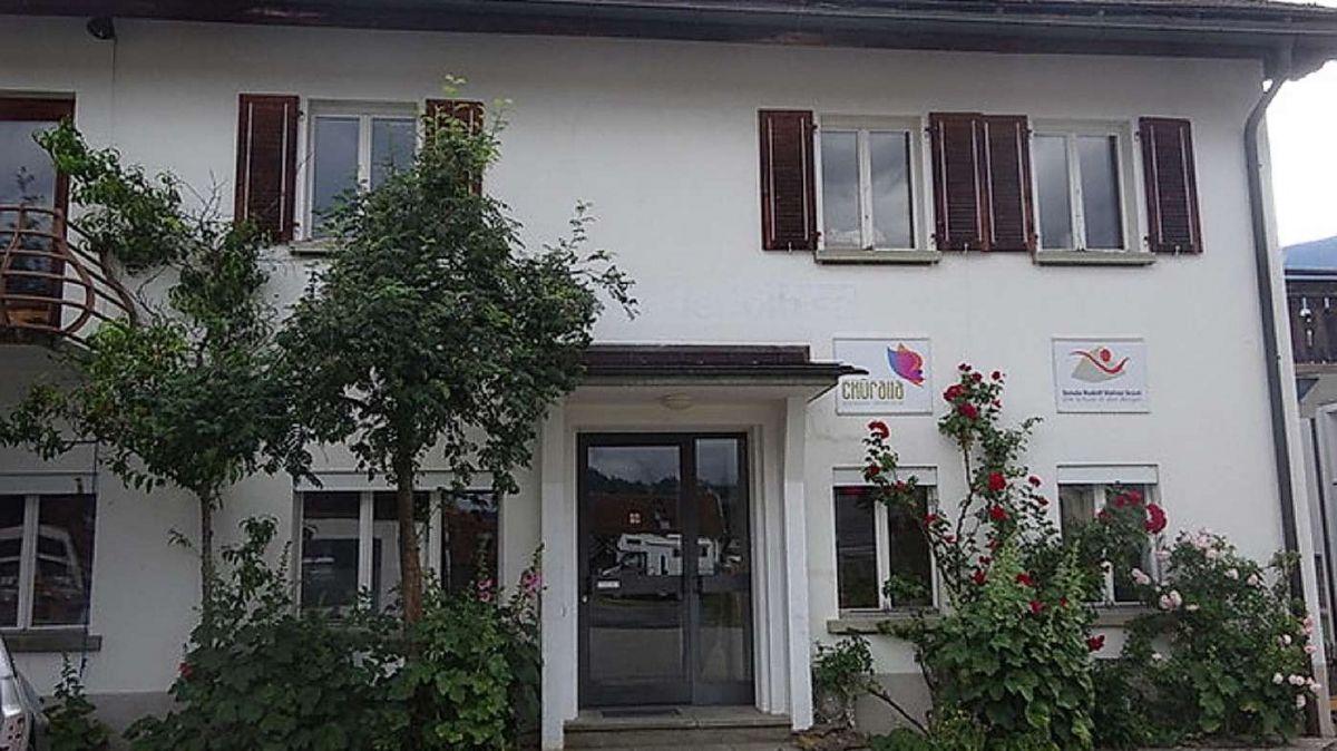 La Scoula Rudolf Steiner illa «Chasa Denoth» a Scuol (fotografia: mad).