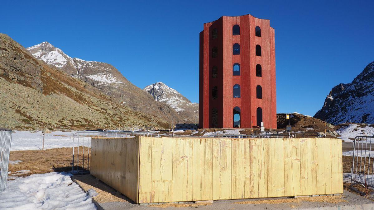 Vom Goldenen Turm ist nur noch der Rumpf übrig, den Roten Turm hingegen will Origen bis Ende August 2023 bespielen.