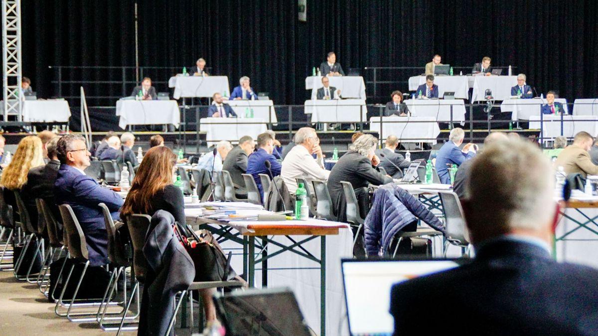 Der Grosse Rat tagt im Rahmen der Dezembersession im Kongresszentrum Davos. Foto: Jon Duschletta