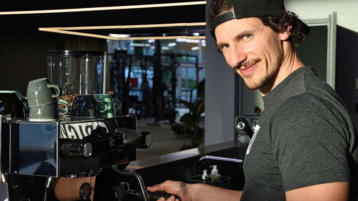 Arno Galmarini outet sich als Barista-Experte. Auch seine Marke Origym steht für Liebe zum Detail (Foto: Nicolo Bass).