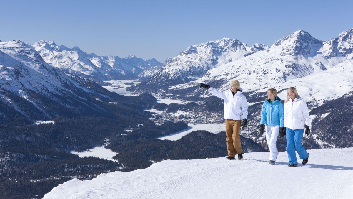 Schneeschuh- und Winterwandern wird immer beliebter. Foto: ESTM AG / Christof Sonderegger