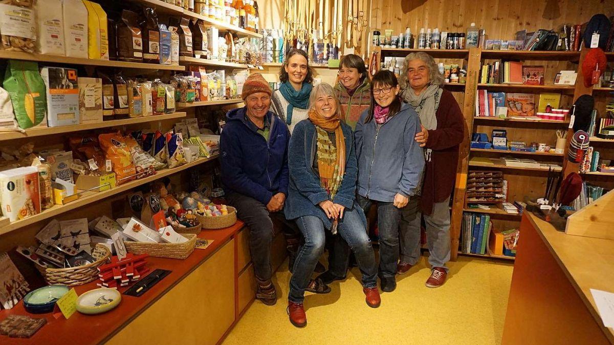 Il team dal Sgabuz a Sent festagia als 6 december il 40avel anniversari (fotografia: Rosa Pinggera).