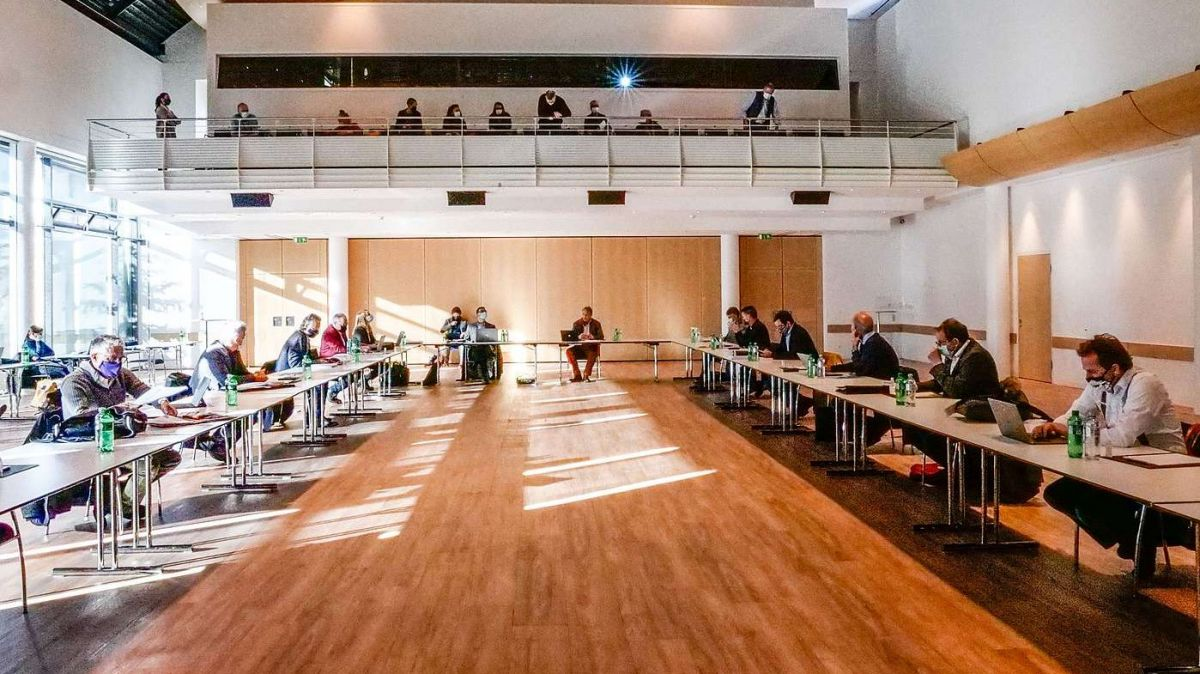 Präsidentenkonferenz der Region Maloja. Foto: Jon Duschletta