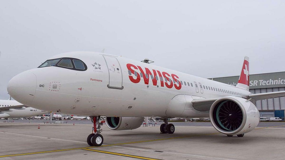 Der fünfte Neo-Airbus ist an Silvester an die Swiss ausgeliefert und auf den Namen «Pontresina» getauft worden. Foto: Swiss