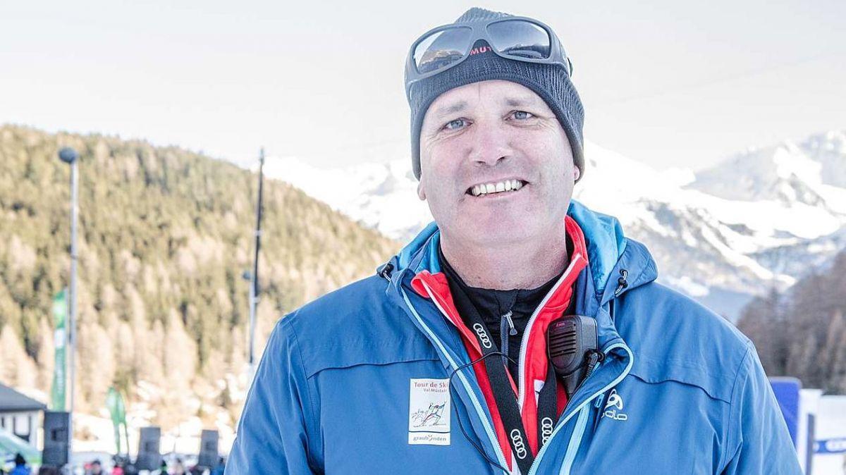 Guido Mittner es cuntaint cun la Tour de ski d'ingon (fotografia: Corsin Wetter).
