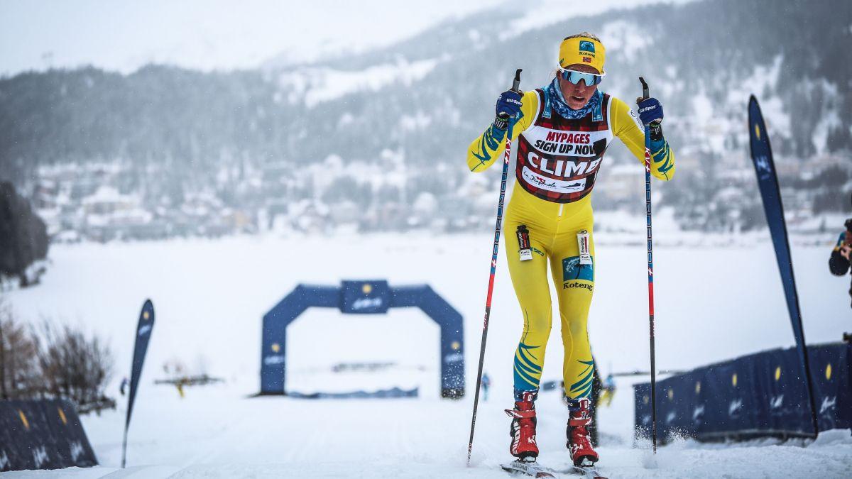 Die Profis werden am Samstag die Originalstrecke der La Diagonela laufen und sich dabei auch in Sprintwertungen wie hier bei St.Moritz messen.