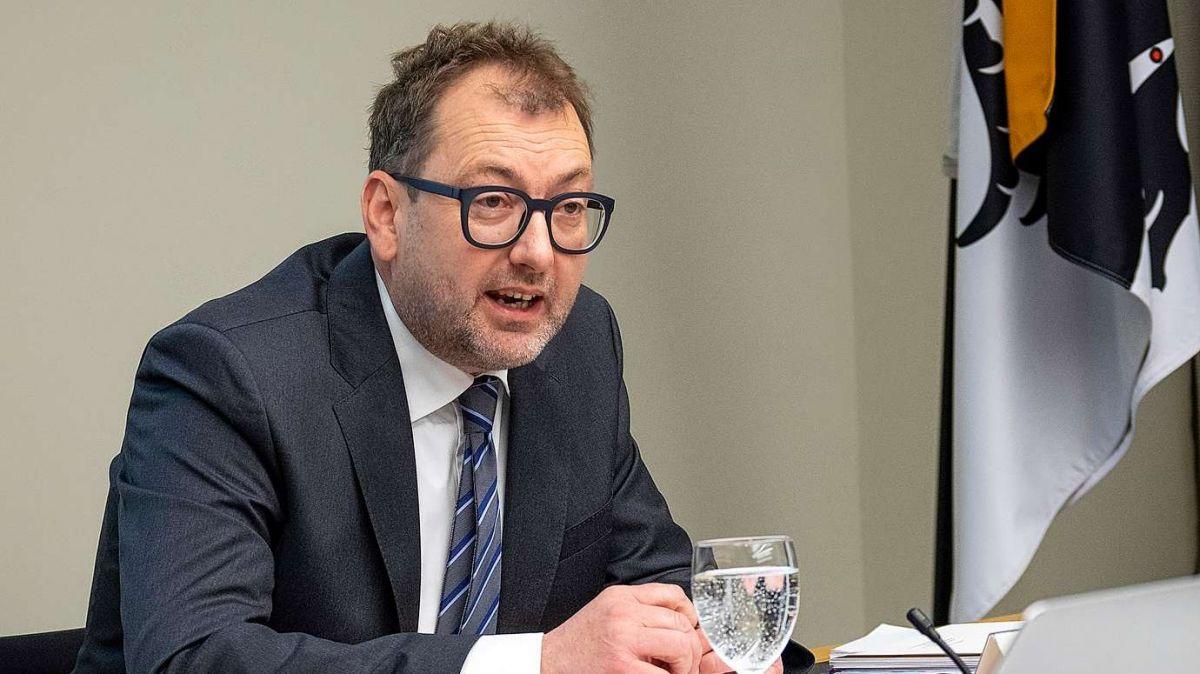Regierungsrat Peter Peyer. Archivfoto: Reto Stifel