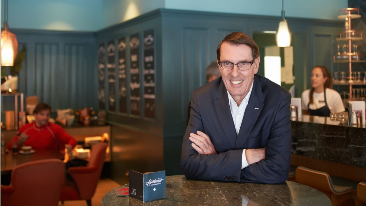 Andreas Züllig ist Koch, Hotelier und Gastgeber. Er vertraut darauf, dass die Branchenvertreter die Auszubildenden jetzt nicht hängen lassen.
