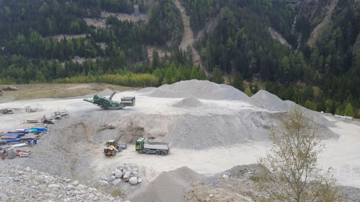 Die Deponie Valsot. Foto: z. Vfg.