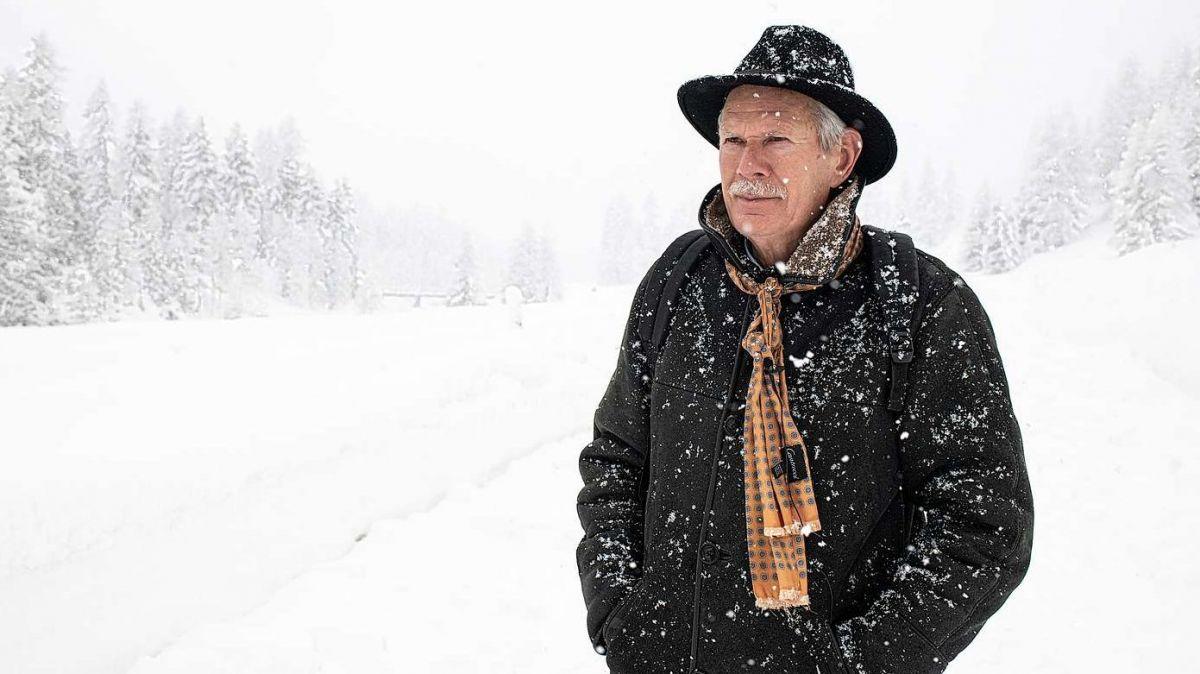 Der niederländische Forscher Johannes Oerlemans ist oft im Engadin unterwegs (Foto: Mayk Wendt).