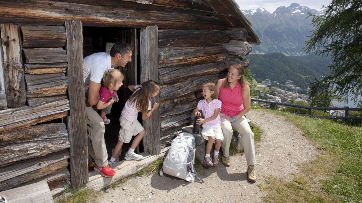 Heidihütte St.Moritz  Foto: ESTM/Christof Sonderegger