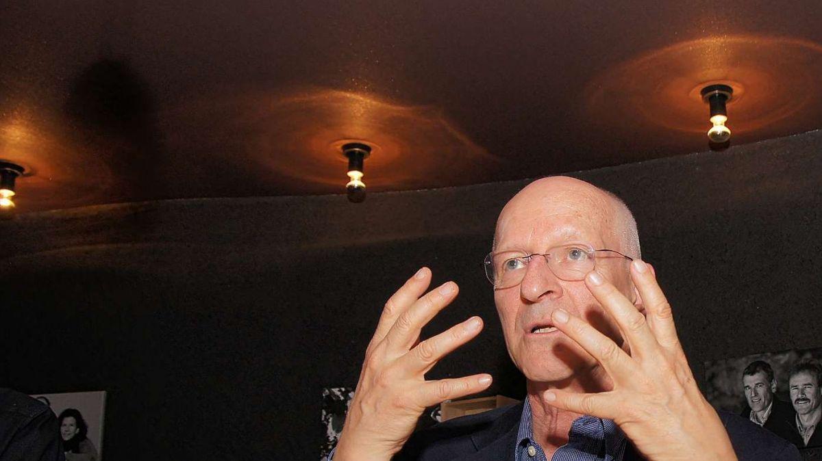 Claude Nicollier, 2014, anlässlich der Wassertage in Scuol zu Gast. Foto: Jon Duschletta