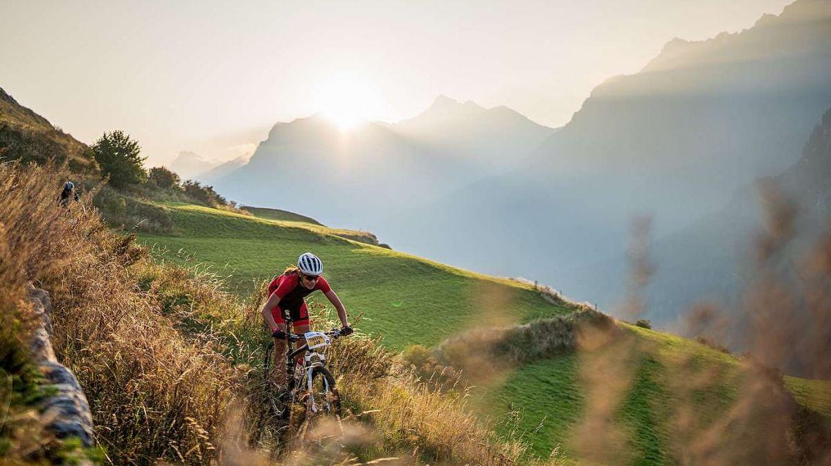 Der Nationalpark Bike-Marathon feiert mit seinem unvergleichlichen Naturerlebnis am 28. August 2021 seinen 20. Geburtstag (Foto: Dominik Täuber).